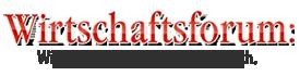 logo wirtschaftsforum
