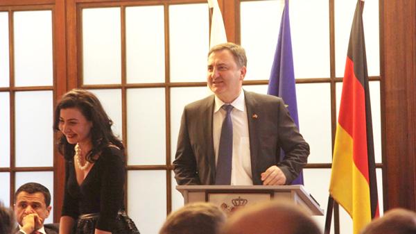 Ekaterine Khvedelidze - Georgian Embassy - Khanturia